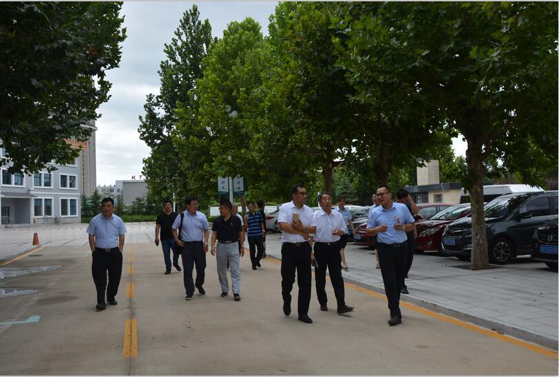 2018.8.15德州市民政局一行在市民政局、区民政局领导陪同下,来颐年园参观考察